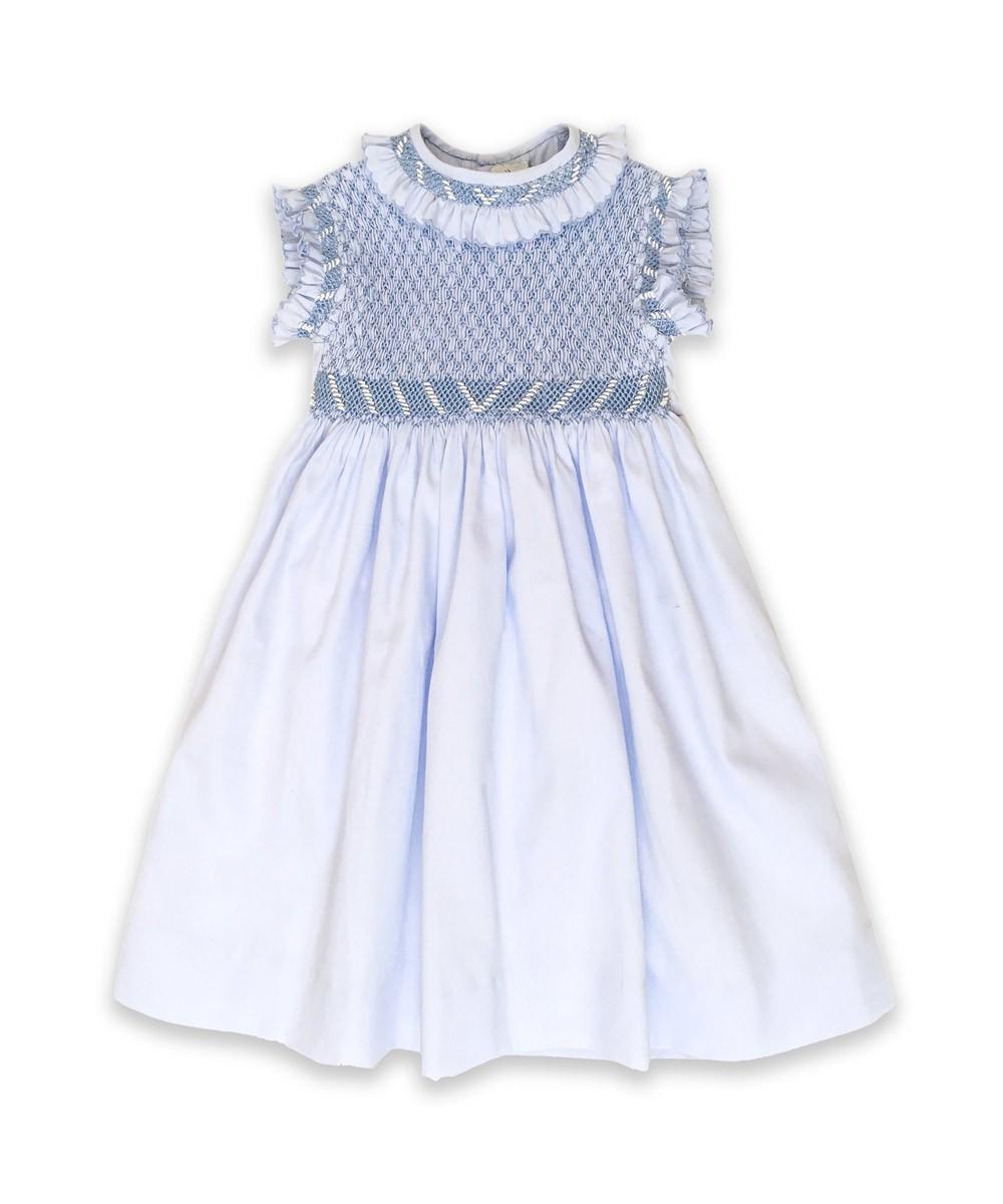 smocked dress for little girl   u0026quot emma u0026quot
