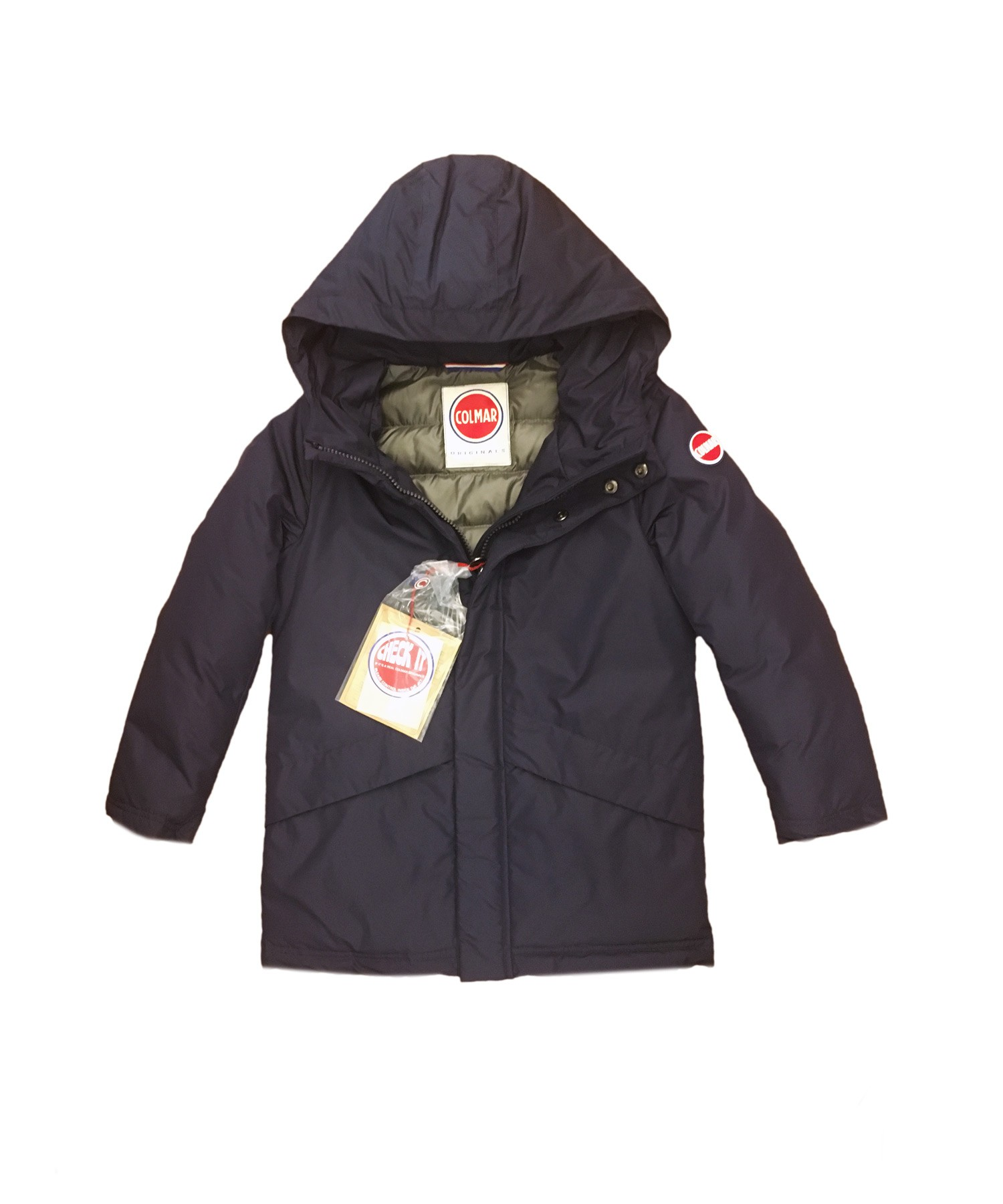 Children Navy Blue Colmar down coat