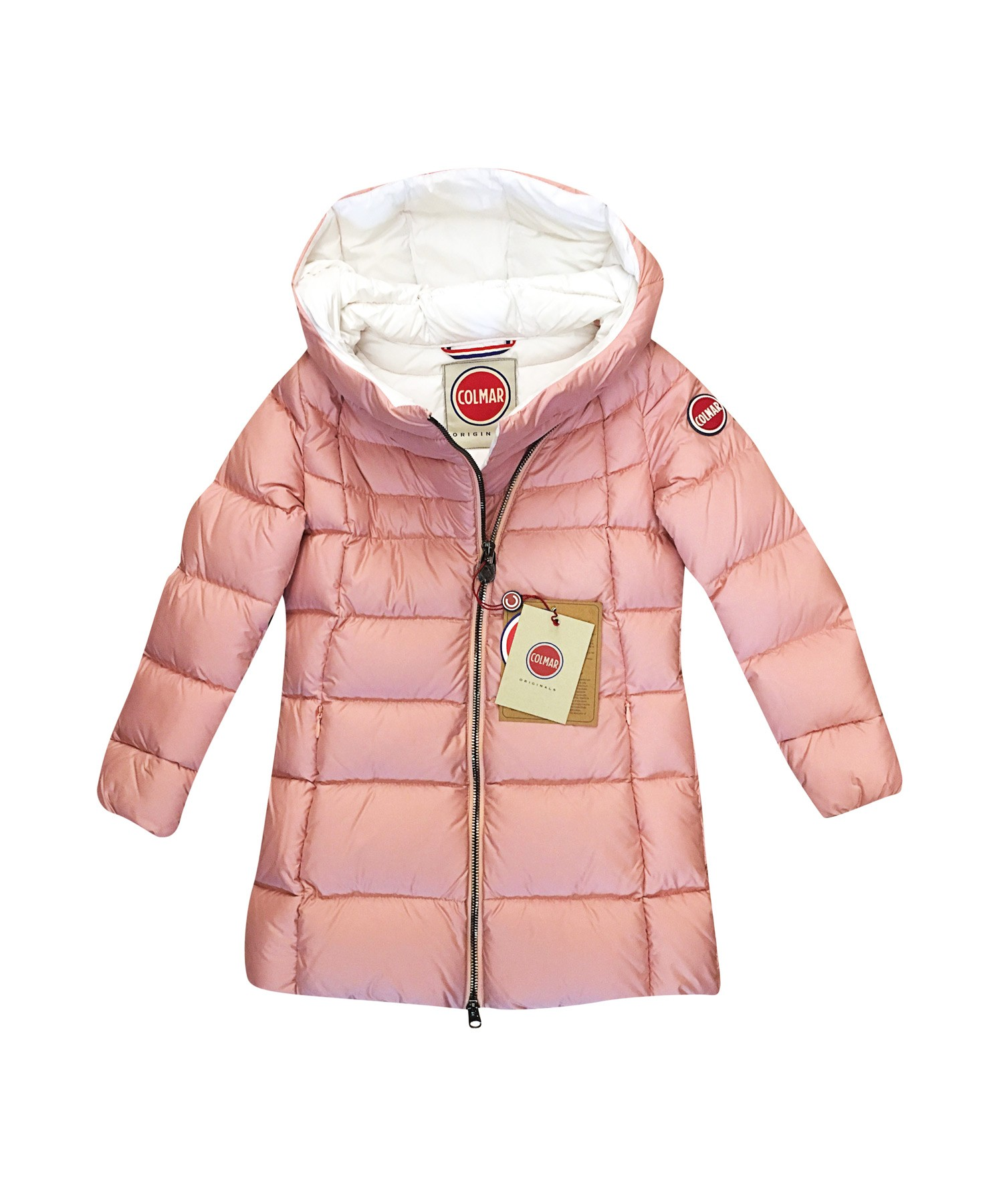 girl Colmar pink down jacket