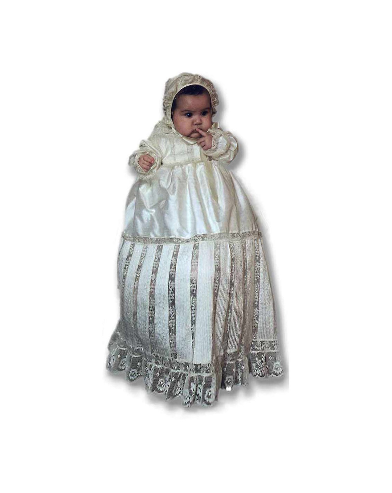 Baptism Dress Quot Octavia Quot With Valencienne Laces