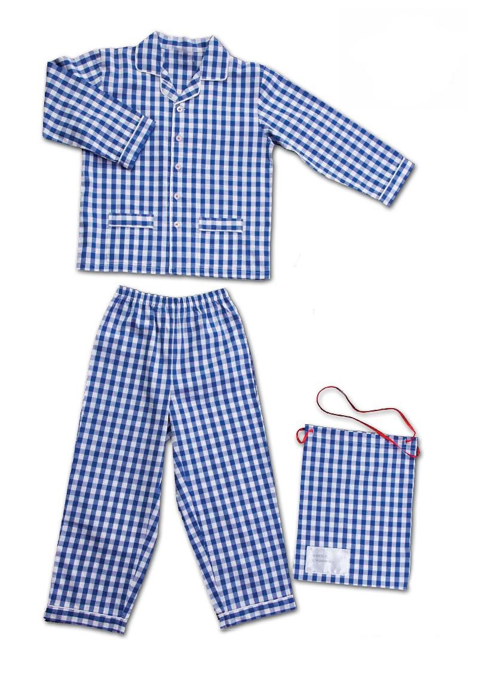 Pajamas gingham