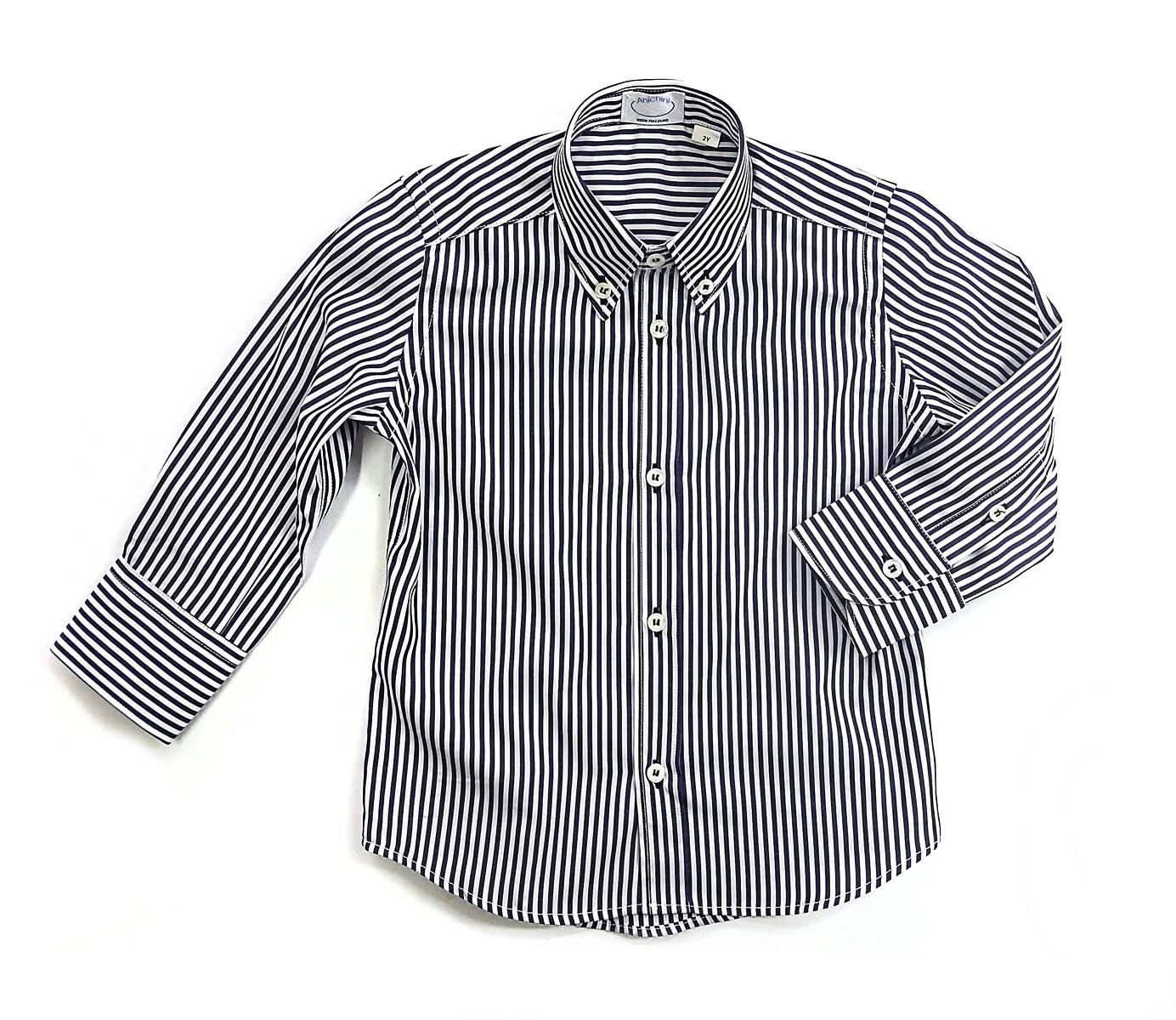 Camicia sartoriale per bambino button down Ascanio