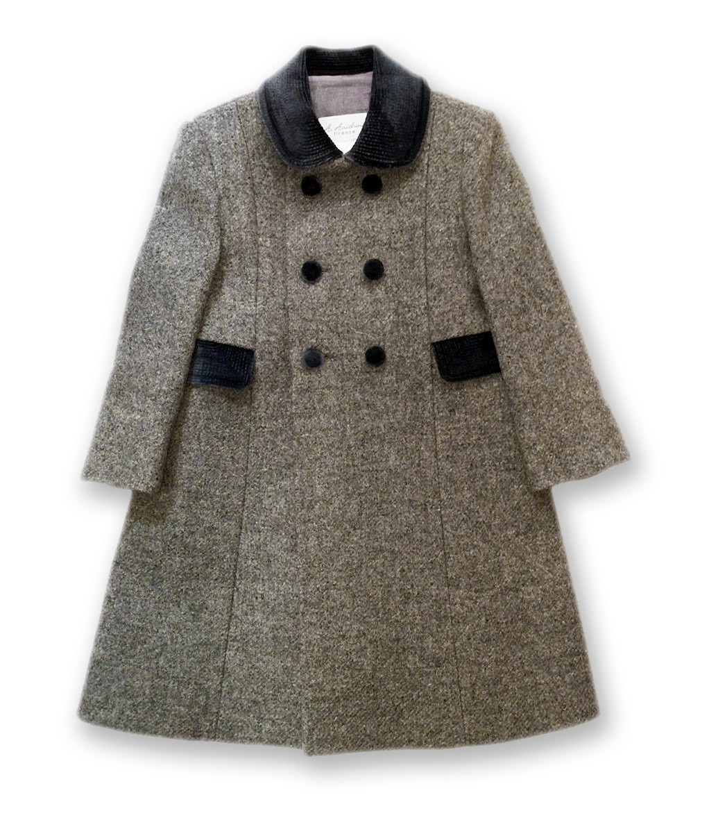 Redingote Coat gray for Boy