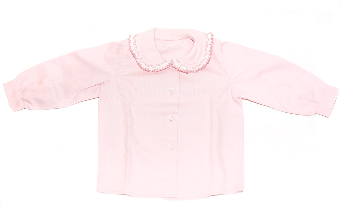 Smocked shirt  for girl and baby boys 3