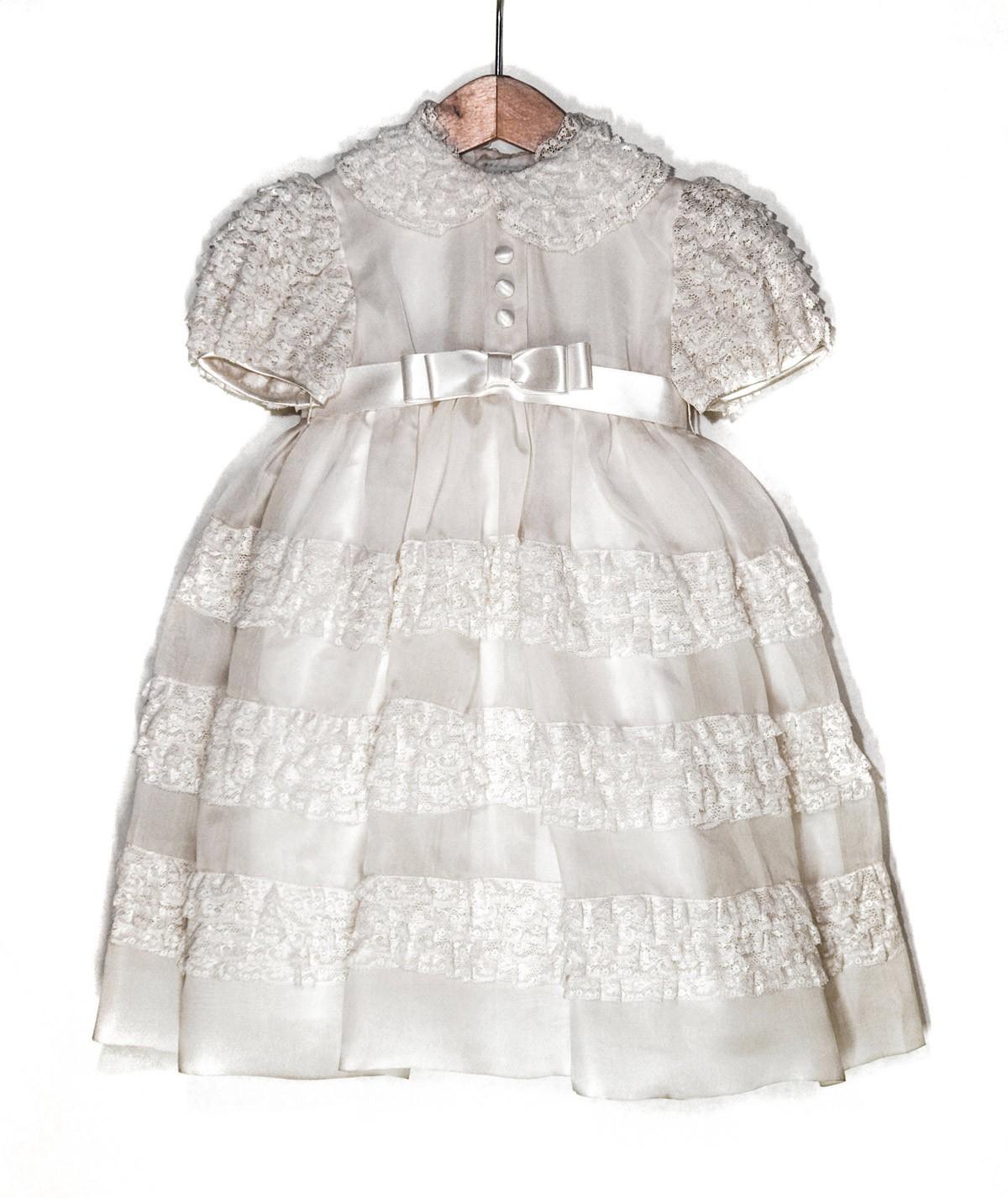 Baby laces Christening dress Koki'o