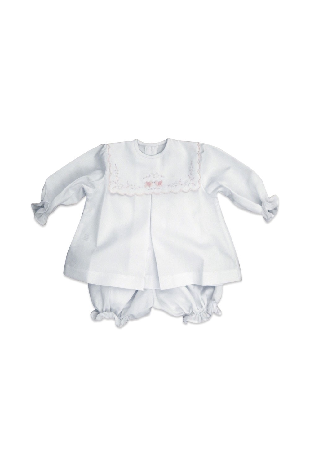 "Baby dress ""Love doves"""