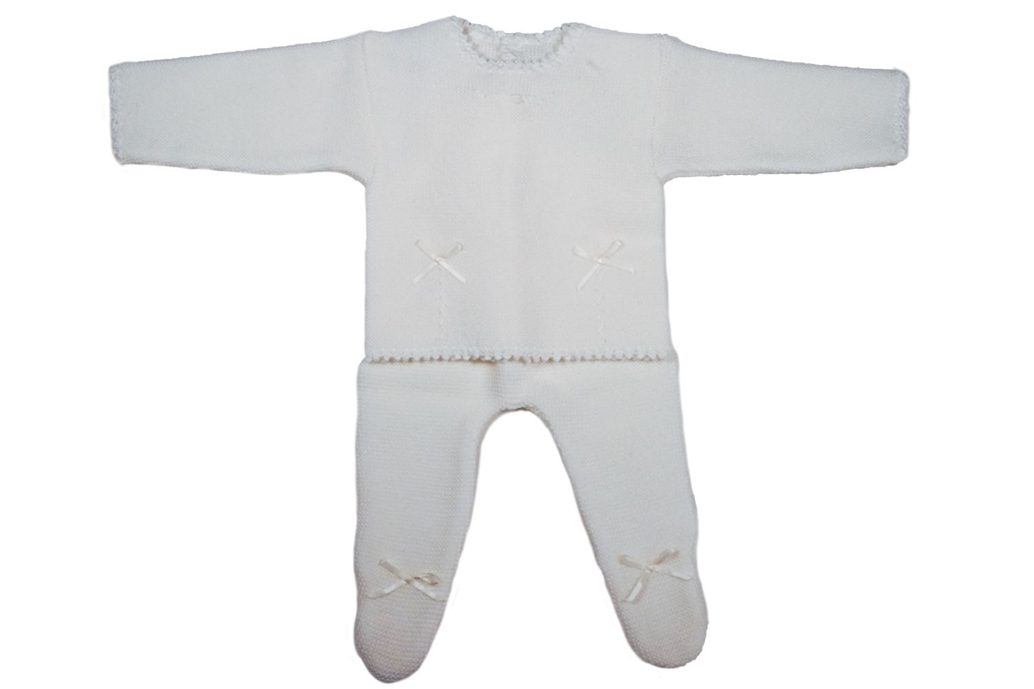 Wool newborn outfit