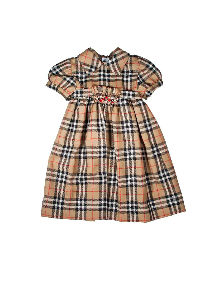 Plaid Tartan Smocked Dress For Girl Quot Caterina Quot