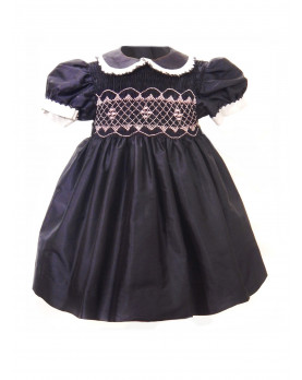Dalida girl smocked dress