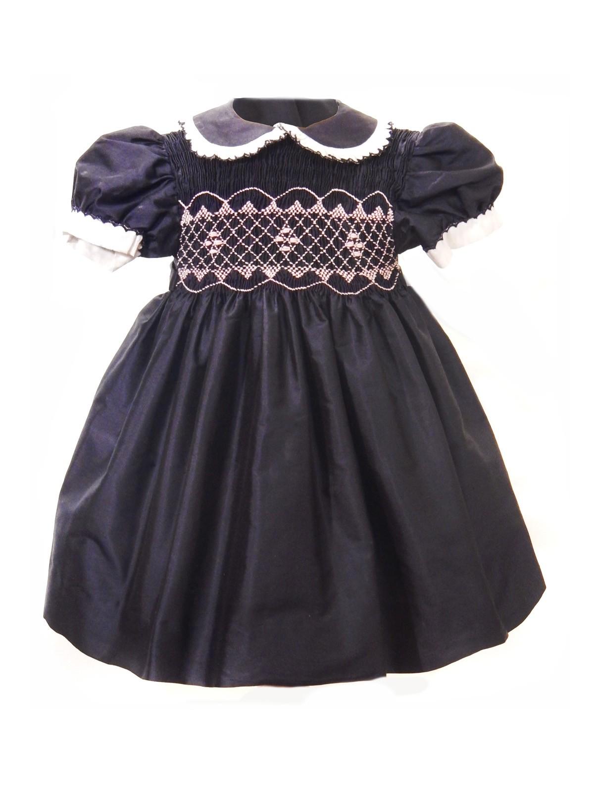 Dalida abito smock bambina