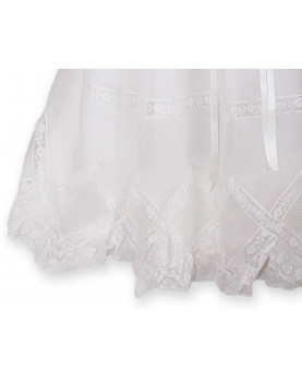 Narciso Christening gown detail