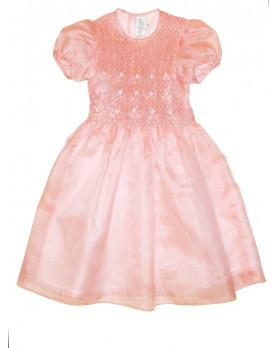 Dianora  flower girl smocked dress