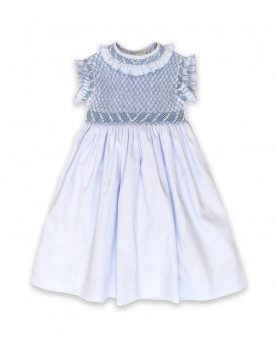 Emma girl smocked dress