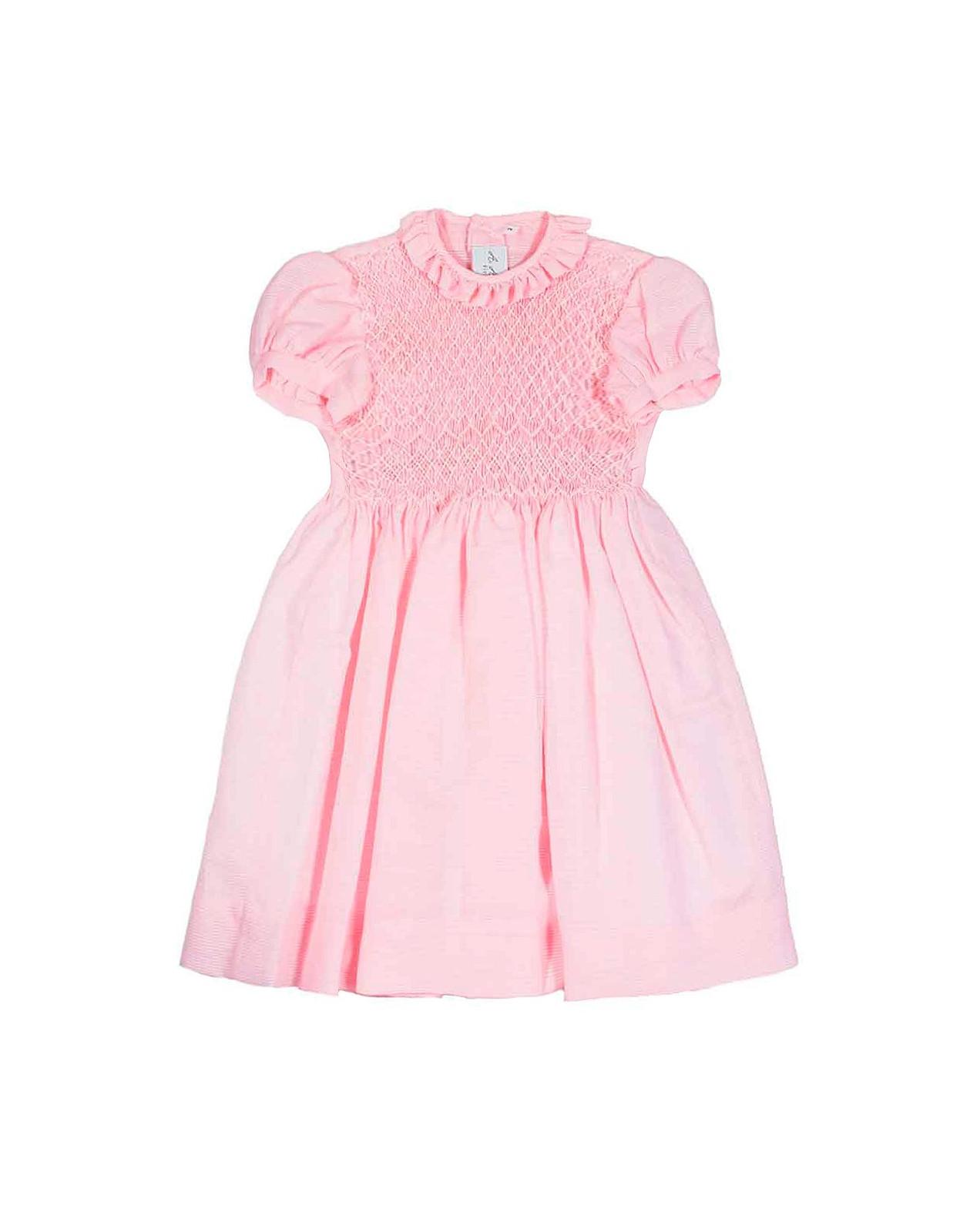 Chiara girl's smocked dress