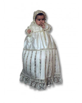 Ottavia traditional Christening gown unisex