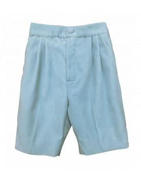 Boy velvet short pants