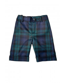Boy tartan short pants