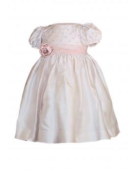 Iolanda abito cerimonia bambina in seta