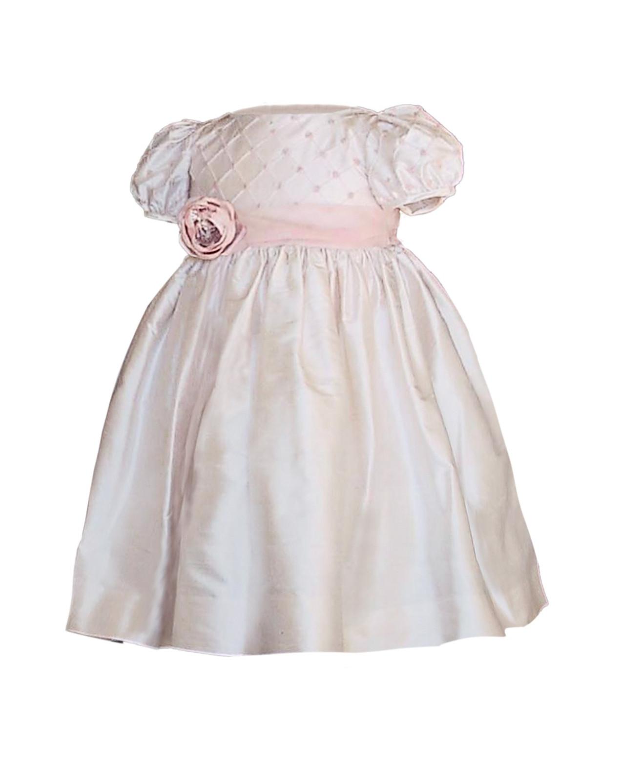 Iolanda special occasion silk girl dress