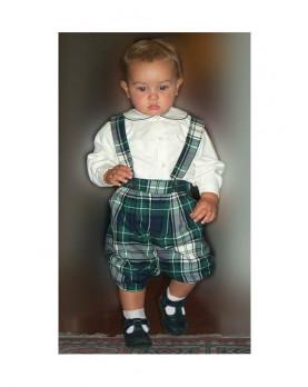 Leonardo completo per bambino con pantaloni alla zuava