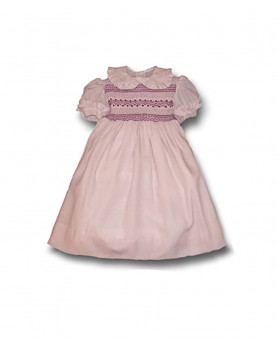 Dafne smocked dress