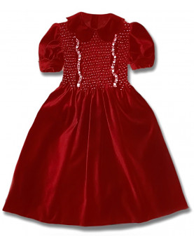 Conny girl velvet dress