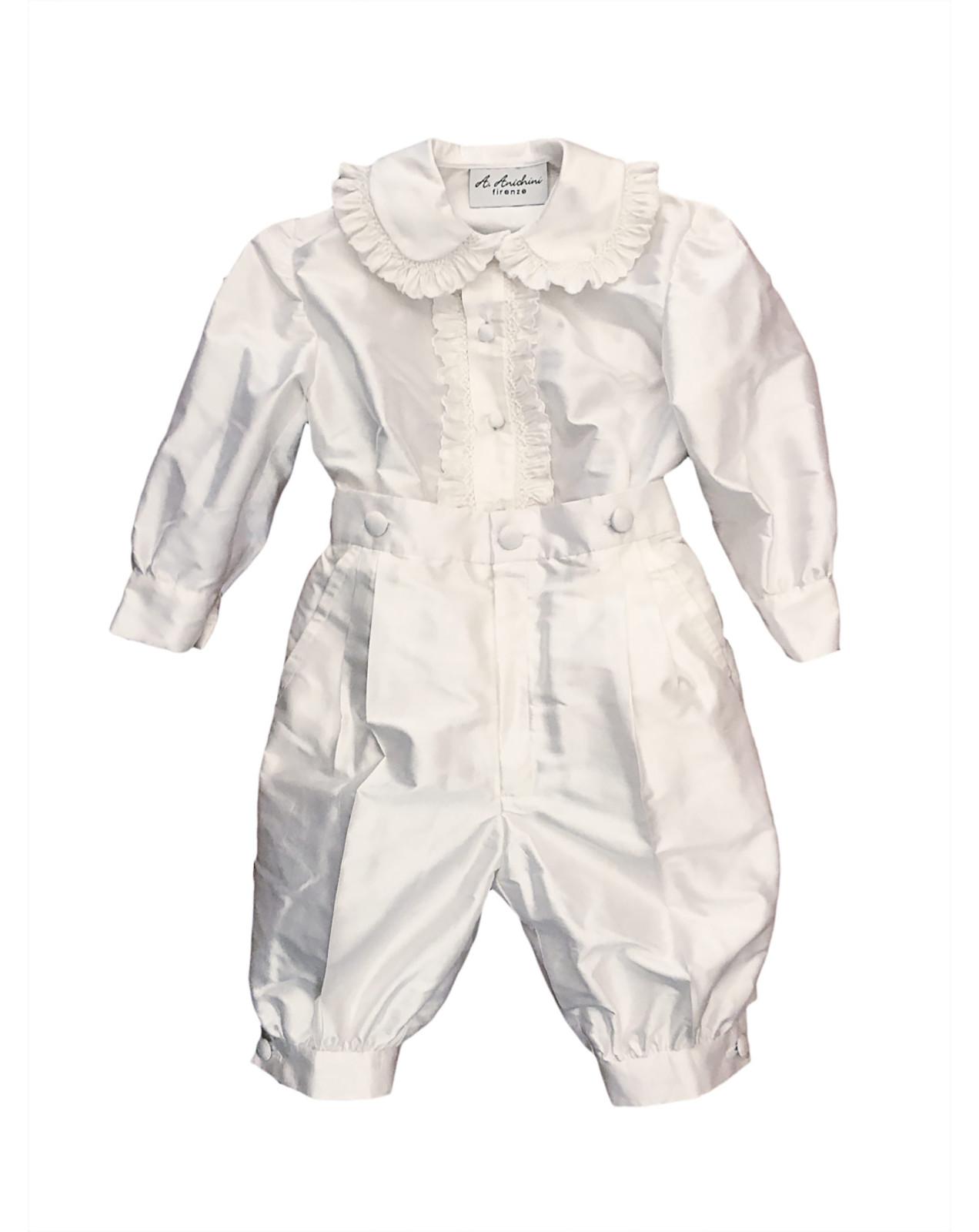 Riccardo silk baby boy outfit