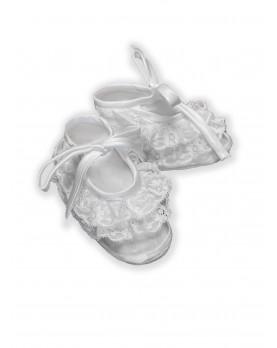 Koki laces baby booties