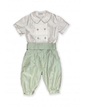 Louis elegant boy suit, green