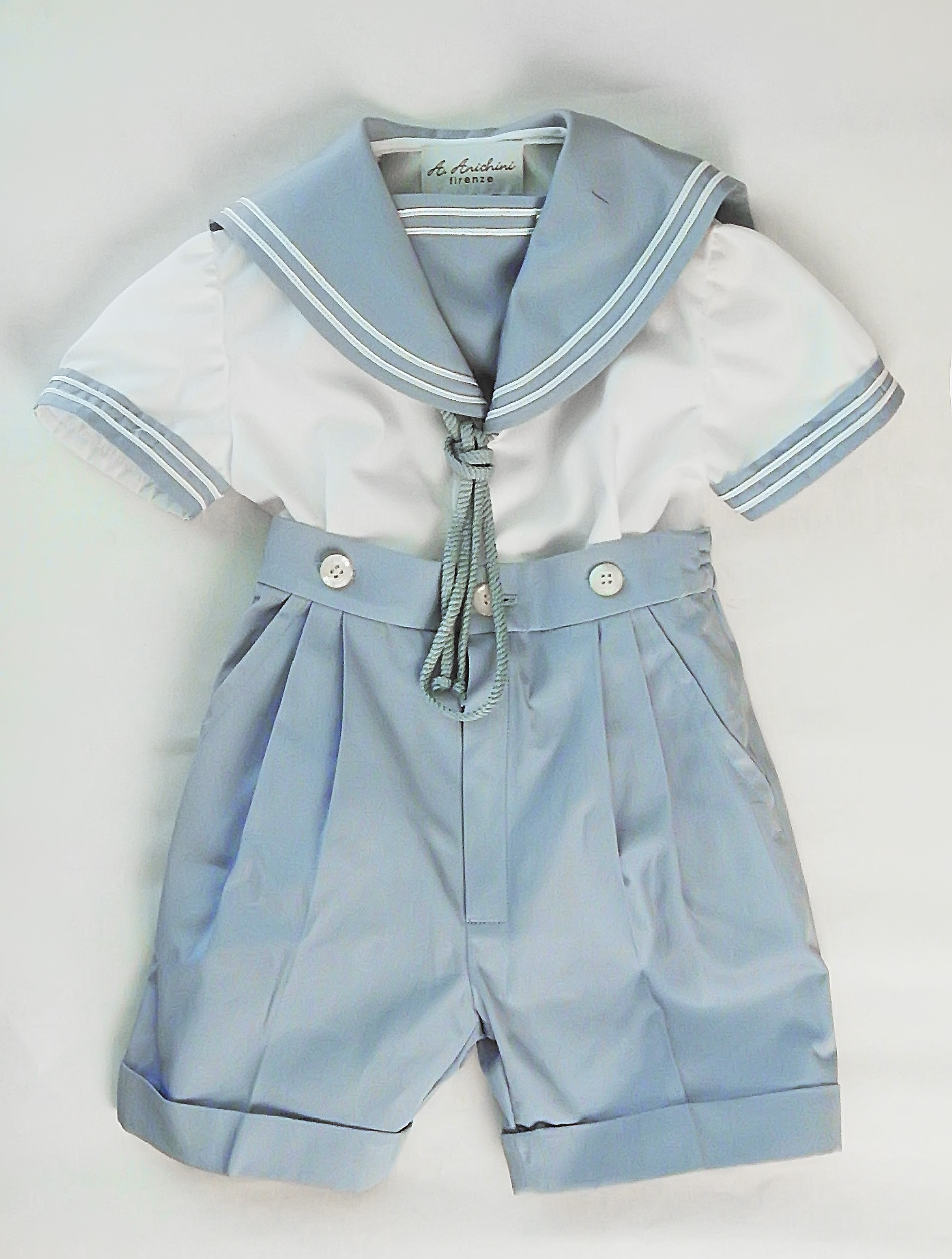 Boy's sailor outfit Giacomo. A perfect sailor style suit ...
