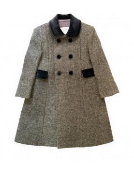 Cappotto Redingote per bambini grigio