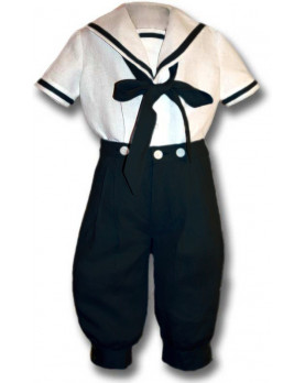 Boy sailor suit navy Ubaldo