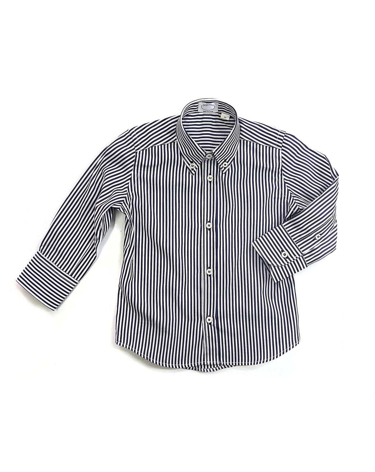 Boy tailored button down shirt Ascanio