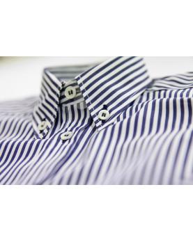Boy tailored button down shirt neck Ascanio