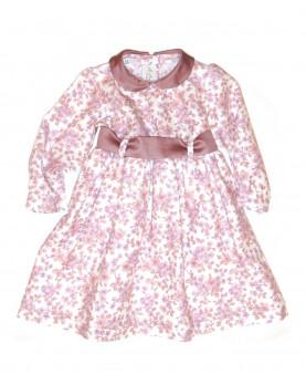 Baby girl floerwers cotton dress