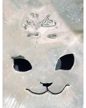"""Spilla argento """"Yuko Cat """""""