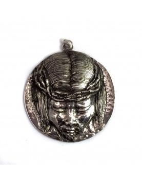 "Silver 925 cradle medallion ""Jesus"""
