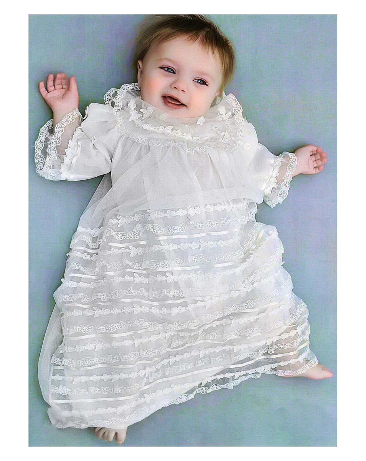 Laces christening and cerimony Jessenia