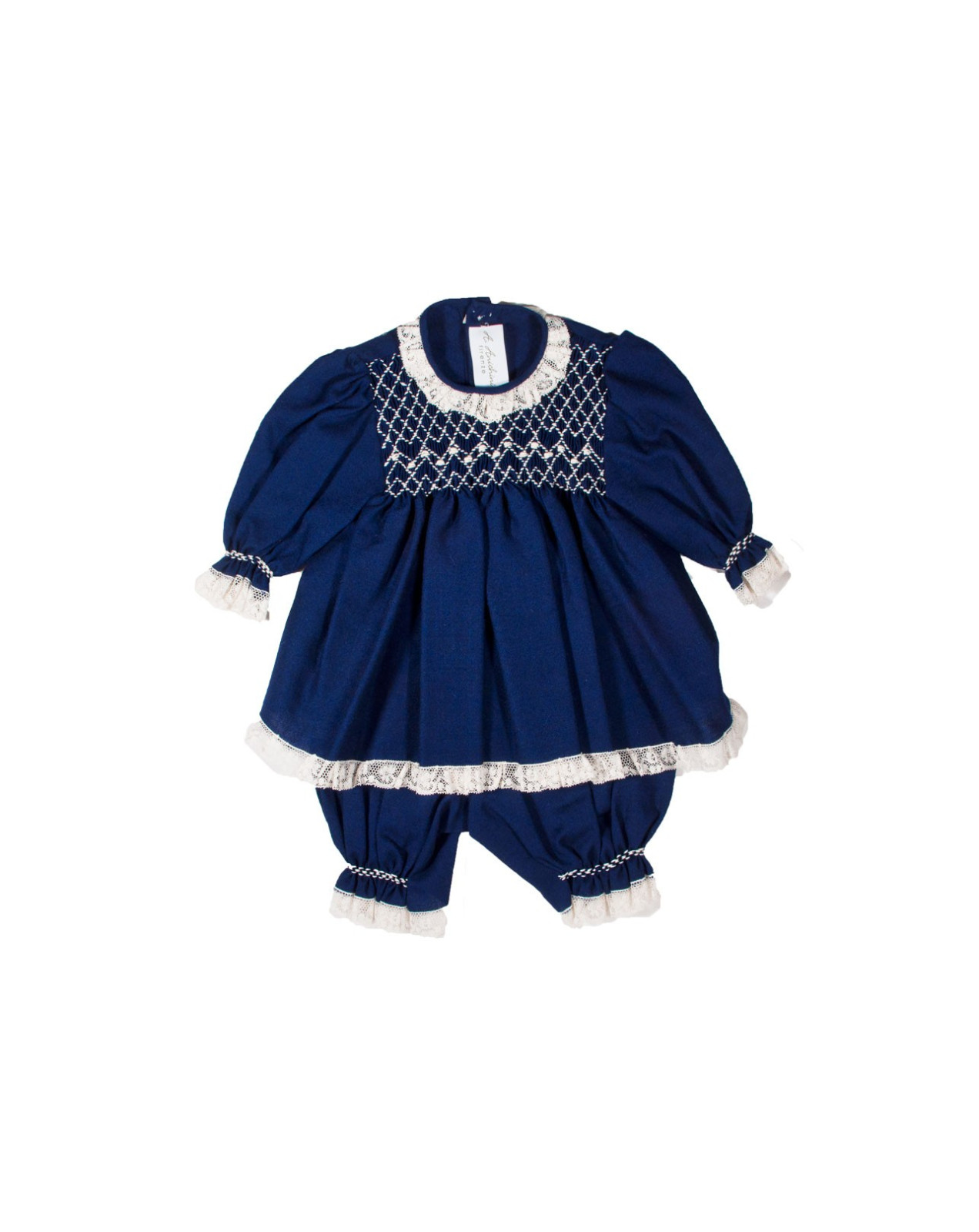 Completo baby smock