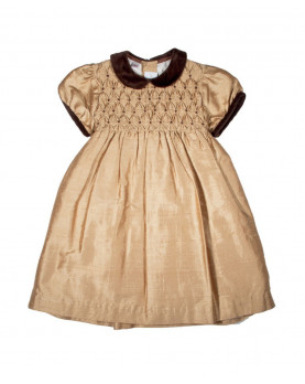 girl smocked dress Martina