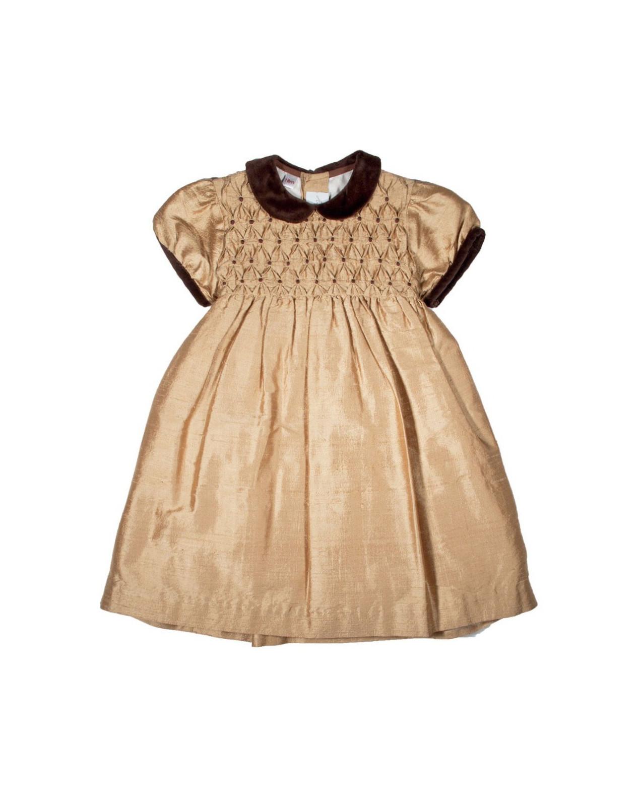 girl smocked dress Martina