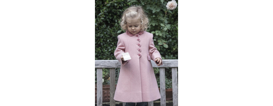 Girl elegant luxury winter coats