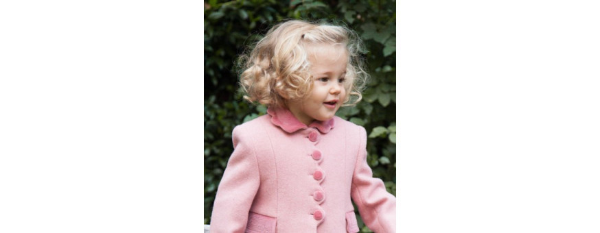 CHILDREN WINTER COATS and DOWN COATS made in italy