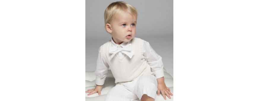 Baby christening, baptismal and parties outfits
