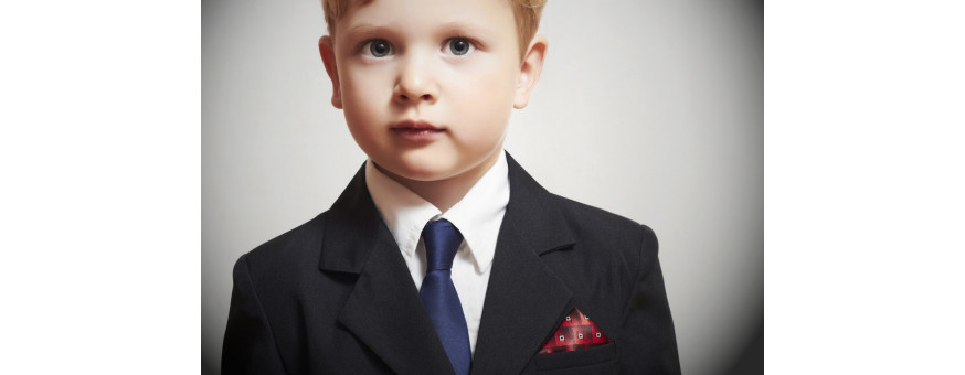 Boy and baby boy jackets and formal suits made in Italy.